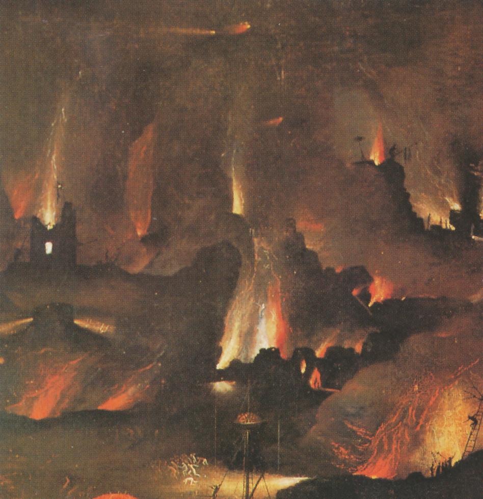 Detallle de los incendios de 'El Juicio Final'