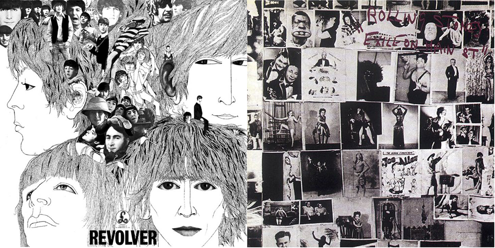 """Revolver"" (The Beatles, 1966) y ""Exile on Main St."" (The Rolling Stones, 1972)"