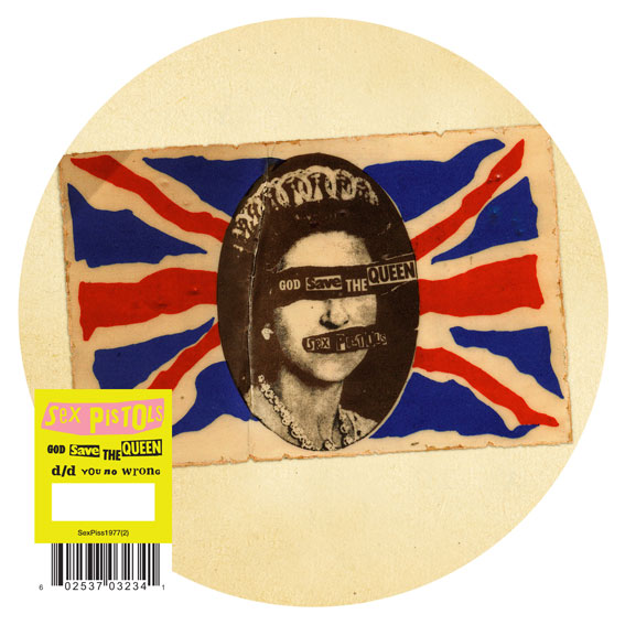 "Edición de lujo y tirada limitada de ""God Save the Queen"", 2012"