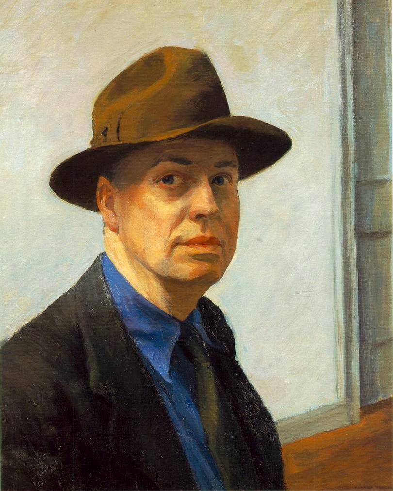 "Edward Hopper - ""Autorretrato"" (1925-1930)"