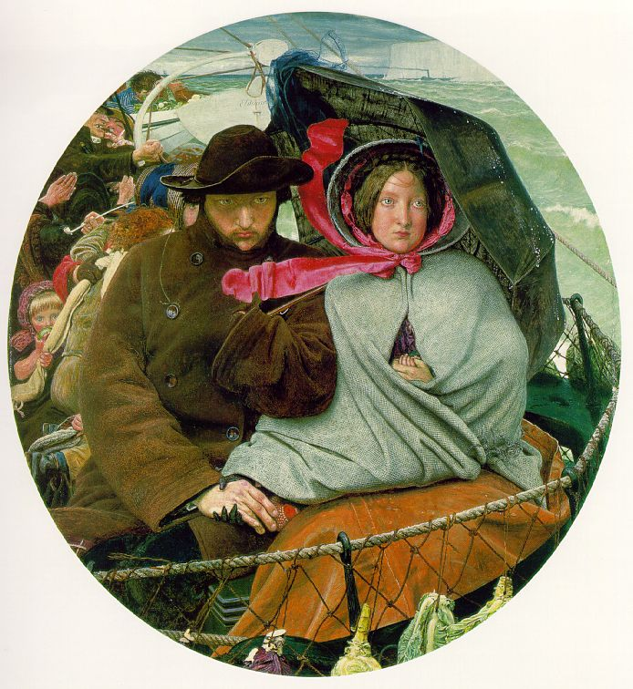 Ford Madox Brown - 'The Last of England'