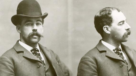 Fotos policiales de H.H. Holmes
