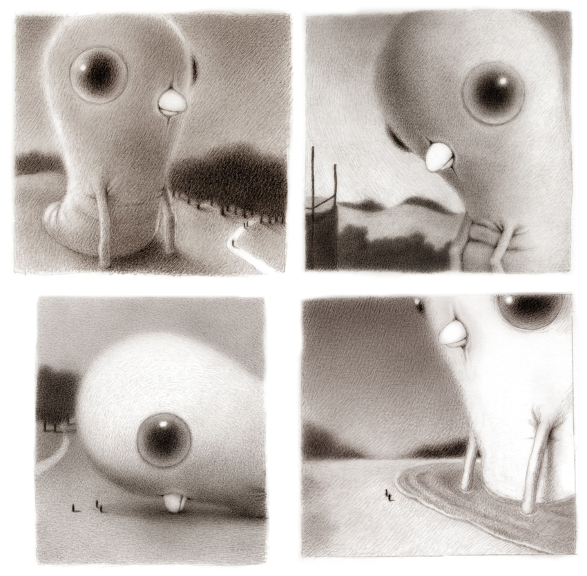 Cuatro ilustraciones recientes de Renee French
