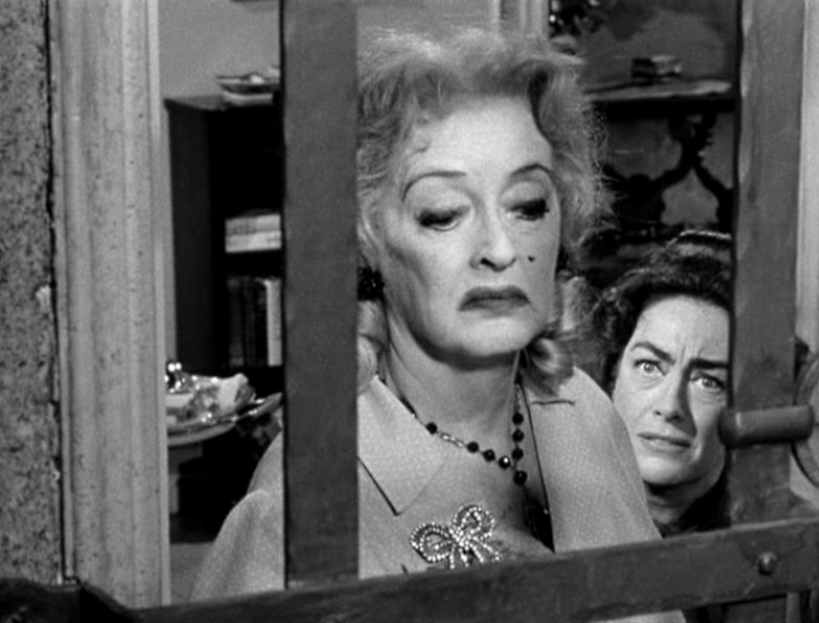 """Davis y Crawford en """"¿Qué fue de Baby Jane?"""""""