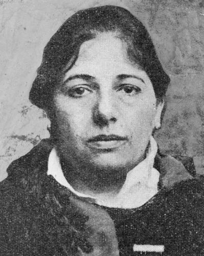 Última foto de Mata Hari, poco antes del fusilamiento