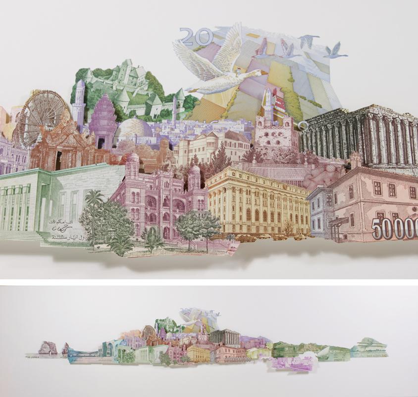 série uns trocados - paisaje - Rodrigo Torres