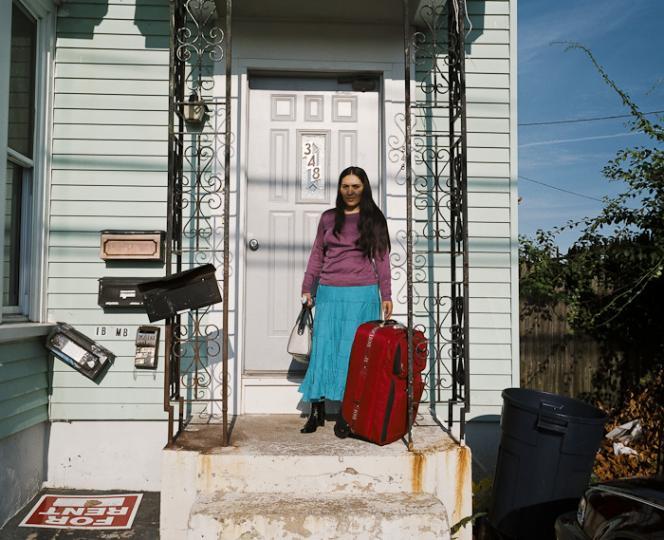 Marina Robles llega de Ecuador para vivir con su hermana (Foto: Mary Beth Mehan)