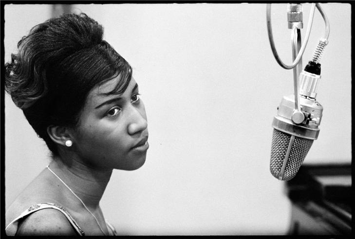 Aretha Franklin en 1960