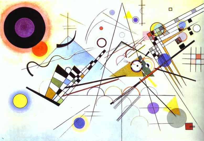 'Composición nº 8' (1923) - Vassily Kandinsky