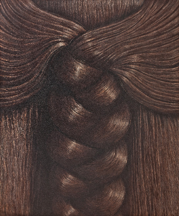 Domenico Gnoli - Braid, 1969