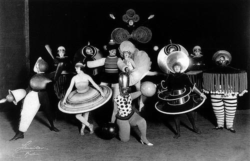 El 'Ballet Triásico' de Schlemmer