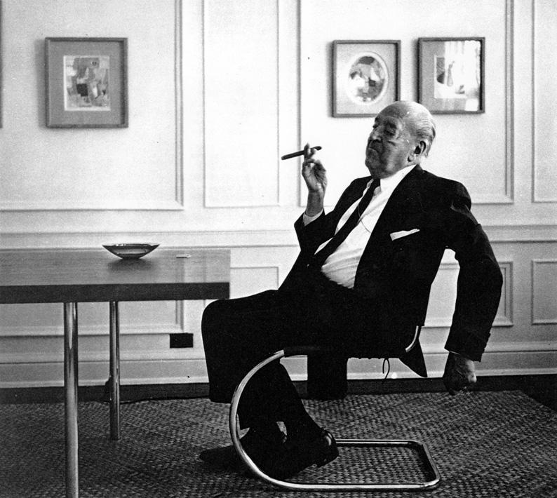 Mies van der Rohe en su apartamento de Chicago (1964)