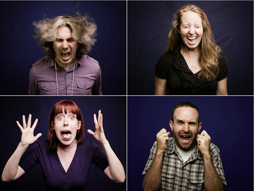 'Scream Portraits' - Billy Hunt