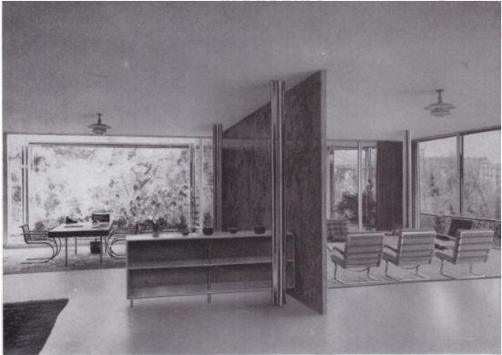 La casa Tugendhat, diseñada por Mies van der Rohe y Lilly Reich (1929)