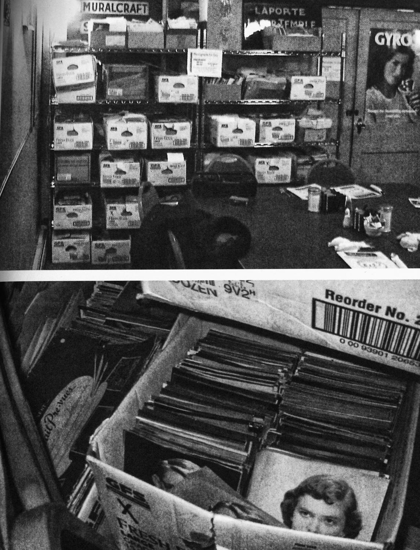 """La colección, tal como la encontró Britner (""""LaPorte, Indiana"""" © 2006 Princeton Architectural Press)"""