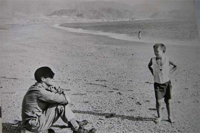 John Lennon en Carboneras (Almería)