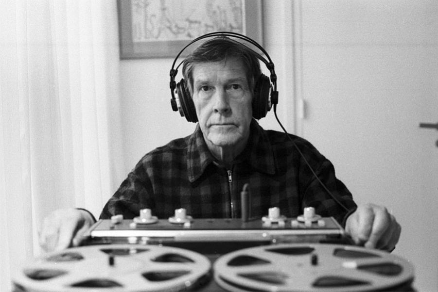 John Cage, Paris, 1981