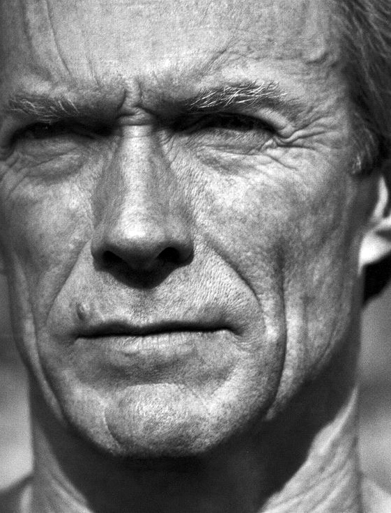 Clint Eastwood, retratado por Herb Ritts