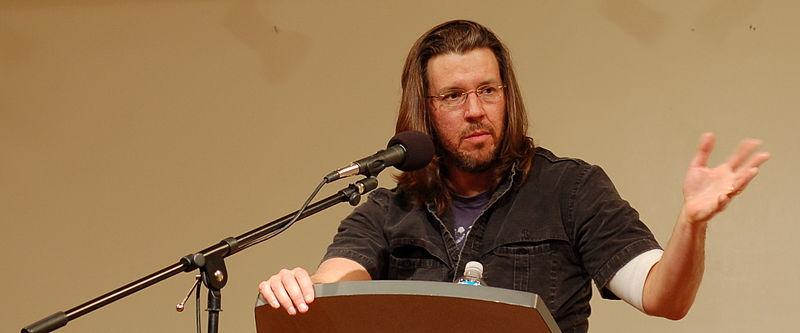 DFW en una lectura en San Francisco en 2006