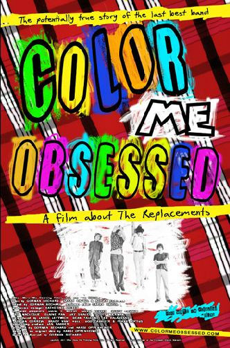 "Cartel de ""Color Me Obsessed"""