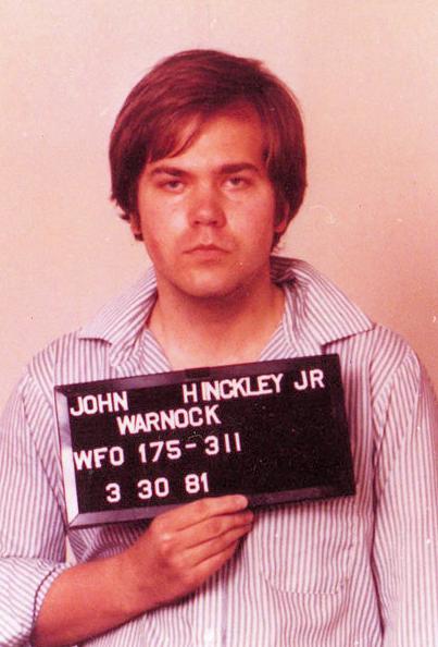 Foto policial de John Hinckley