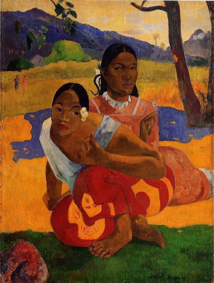 'Nafea Faa Ipoipo (¿Cuándo te casarás?)' (1892)