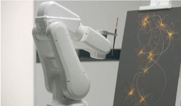 El robot del 'Arte del sueño'