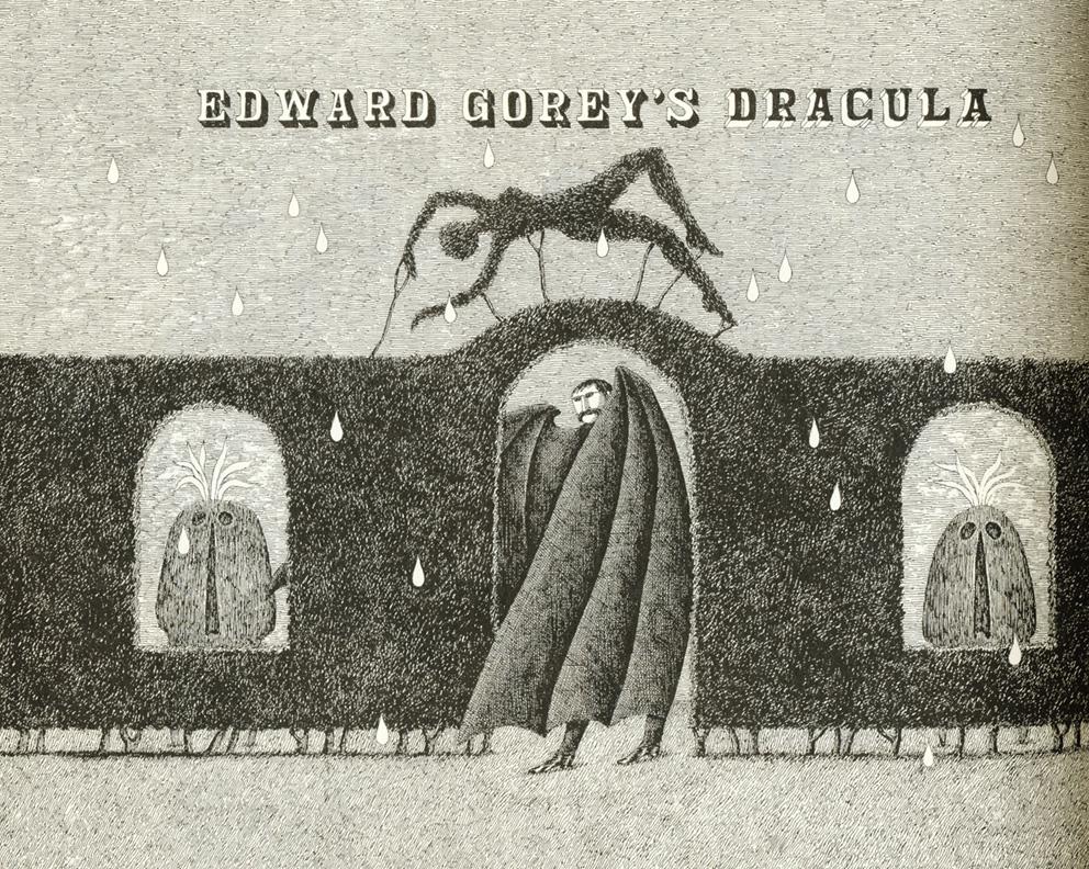 Ilustración de 'Drácula'