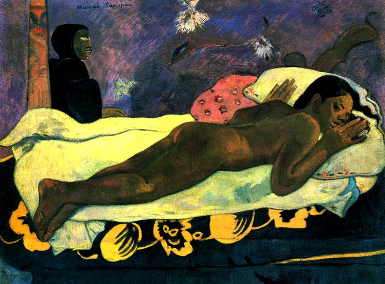 'Manao Tupapau' (El espíritu de los muertos vela) (1892)