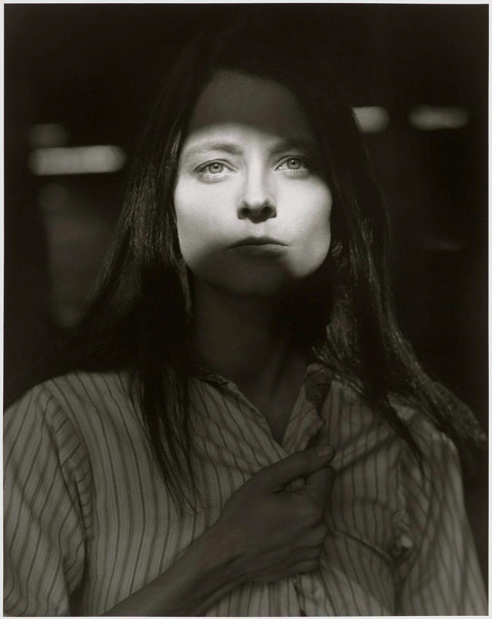 Jodie Foster retratada por Herb Ritts