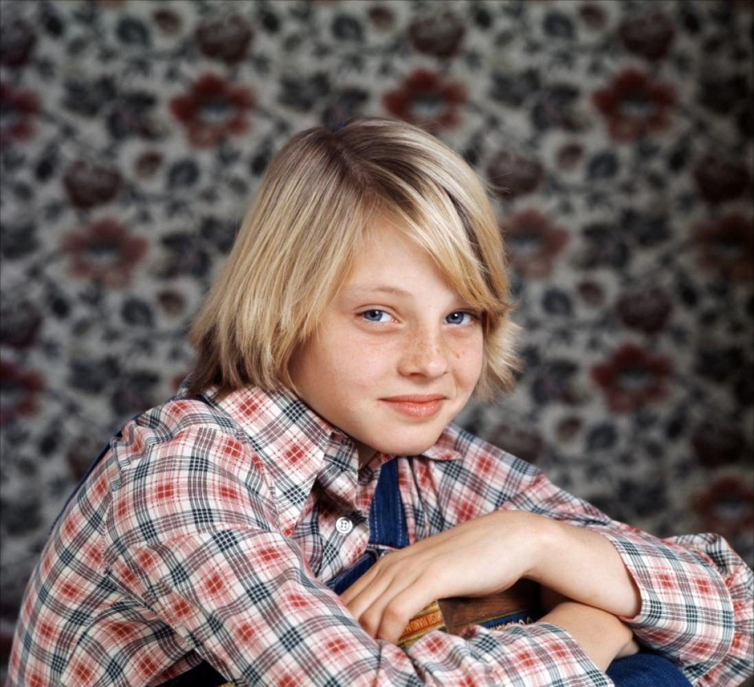 Foto del 'book' infantil de Jodie Foster