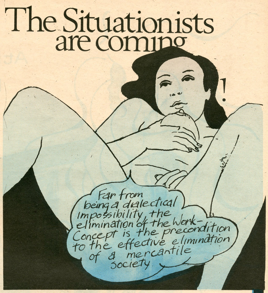 """The Situationists Are Coming"", 1969"