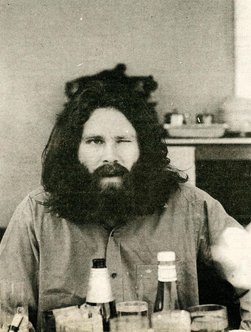 Jim Morrison retratado por Andy Kent