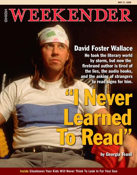 """En la portada de Weekender: """"Nunca aprendí a leer"""""""