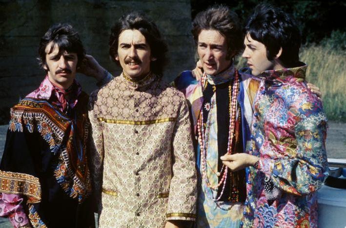Los cuatro 'beatles' en 1967