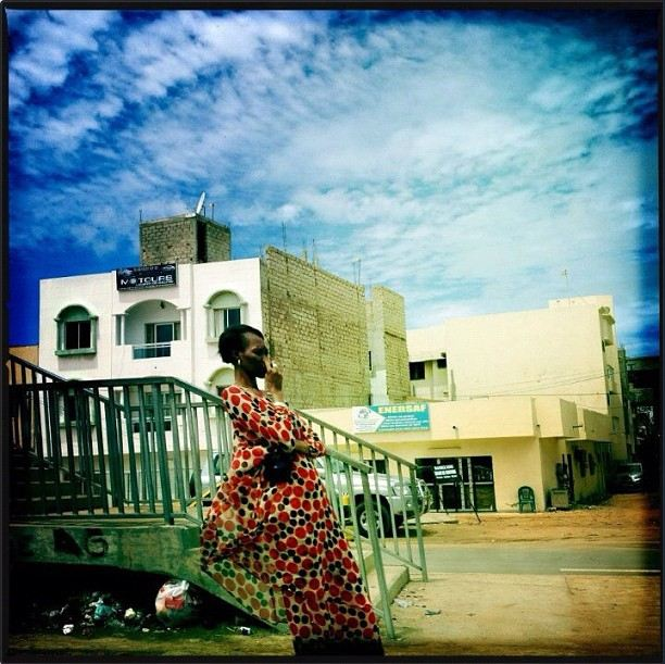 Dakar, Senegal, 22 de julio, 2012 (Instagram de Holly Pickett)