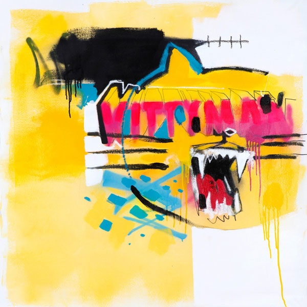 'Kitty Man' - Anthony Lister