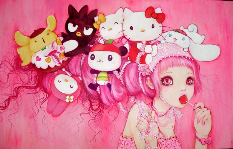 'Hello Kitty' - Camilla d'Errico