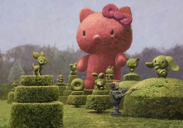 'Hello Topiary' - Eric Joyner
