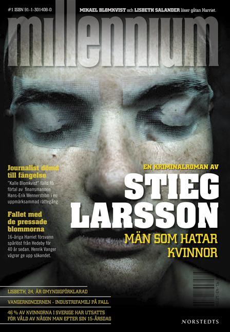 Cubierta de la primera edición en Suecia del libro inicial de la saga
