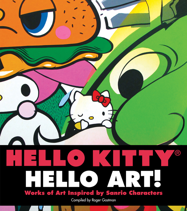 Portada del libro 'Hello Kitty, Hello Art!'