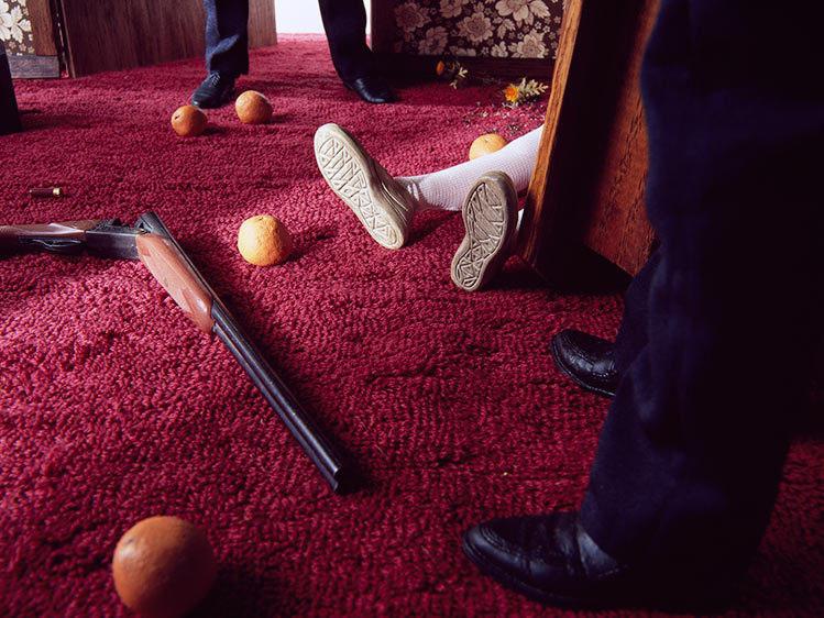 Una de las maquetas de la serie 'Previously' - Bill Finger