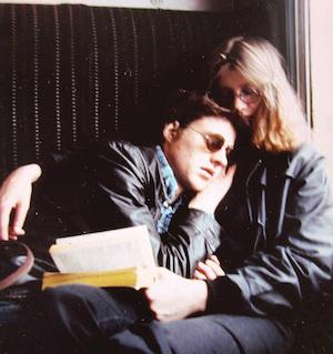 Stieg Larsson y Eva Gabrielsson en 1980