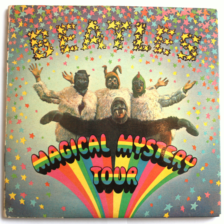 """Cubierta original del doble EP """"Magical Mistery Tour"""", 1967"""