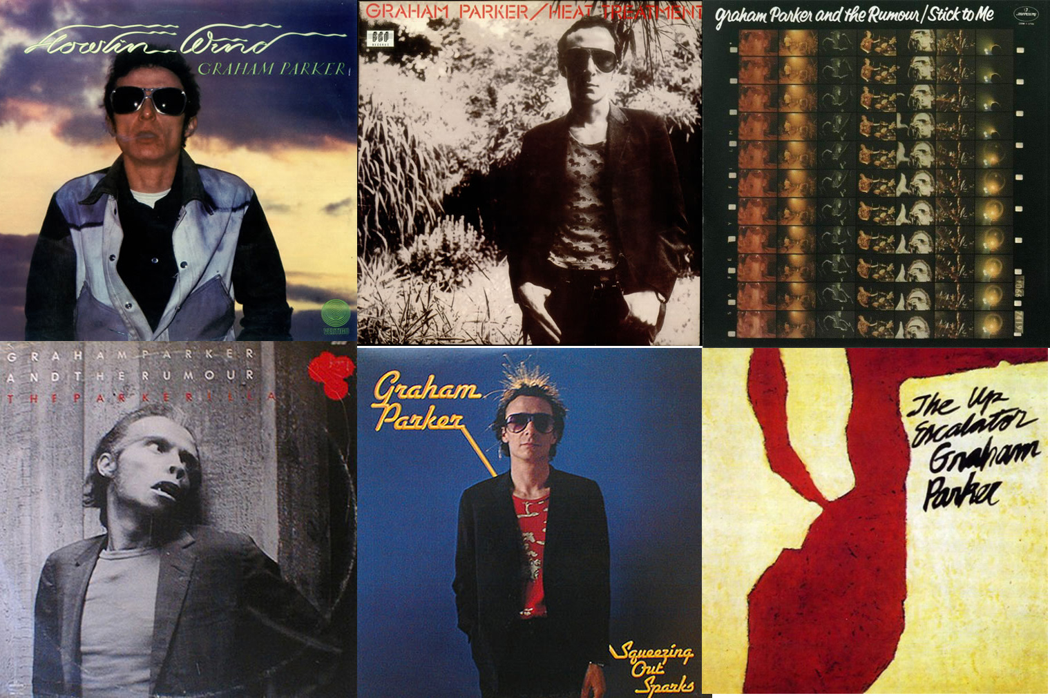 Los seis álbumes de Graham Parker & The Rumour