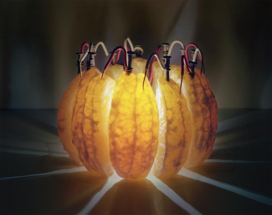 'Orange Battery' - Caleb Charland