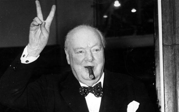 Churchill en los años de la II Guerra Mundial