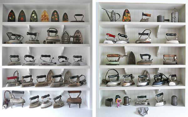 Colección de planchas de Jay Raymonds