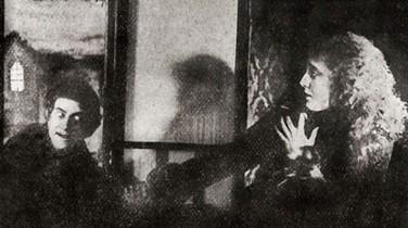 Uno de los dos fotogramas que se conservan de 'Drakula halála'