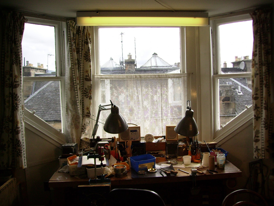 El taller de David Edwards en Edimburgo